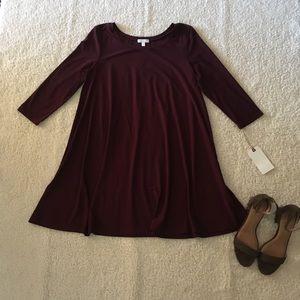 NWT- Leith 3/4 sleeve Swing Dress